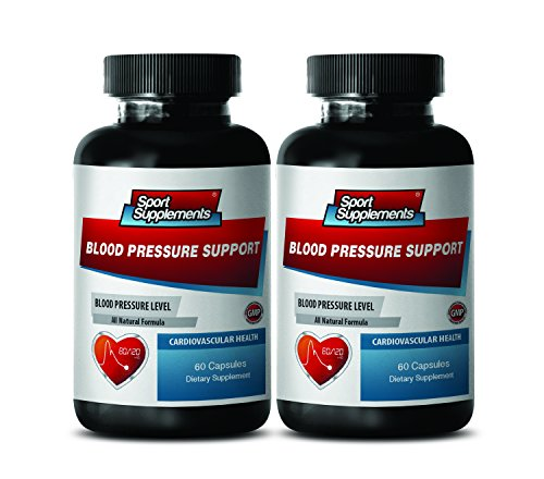 Cholesterol lowering Vitamin - Blood Pressure Support 690 MG - Cardiovascular Health - Energy Boost Now - 2 Bottles (120 ()