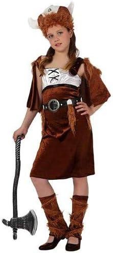 Atosa - Disfraz de vikinga para niña, talla 128 (8422259107057 ...