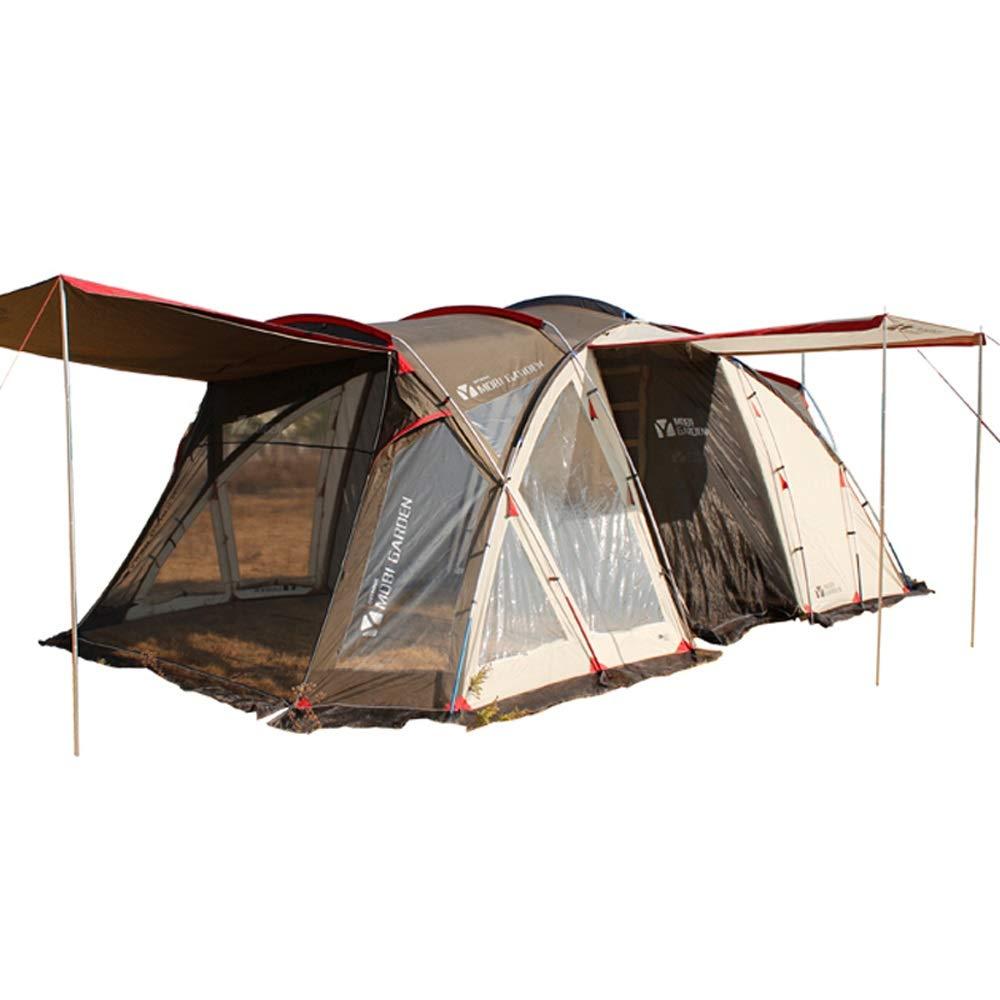 YONGMEI Zelt - Familien-Multi-Personen-Reisen Riot Regen Camping Zelt im Freien Sport im Freien