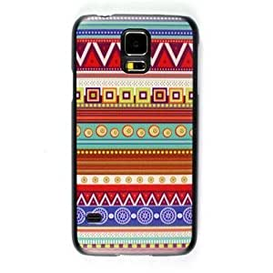 Aztec Tribal Thin Back Cover Skin Protector Phone Case For Samsung Galaxy S5 S 5 SV SM-G900F i9600