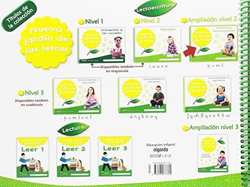 Nuevo jardín de las letras. Primeras consonantes Educación Infantil Algaida. Lectoescritura - 9788490677360: Amazon.es: Campuzano Valiente, María Dolores: Libros