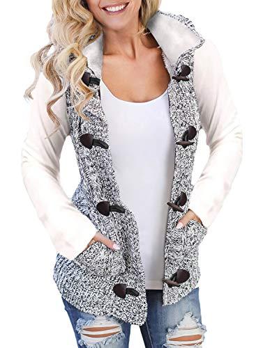 Sidefeel Hooded Sweater Cardigan Outerwear