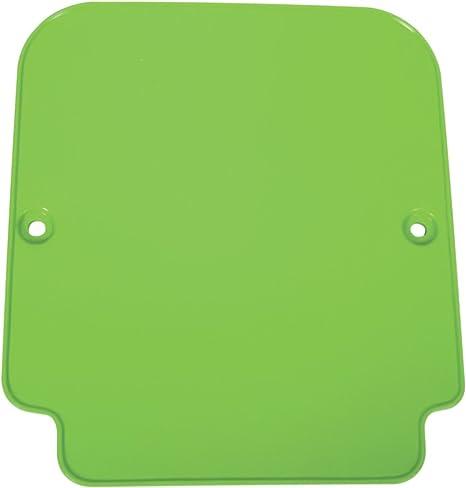 UFO KA03701001 Replacement Plastic for Kawasaki FRT #Plate KX 96-00 Black