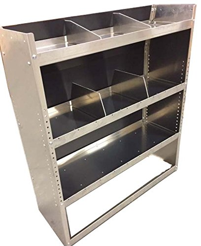 Aluminum Van Shelving Storage Unit - 38