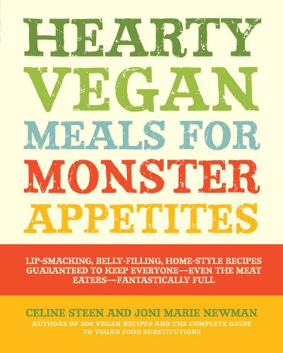Hearty Vegan Meals Monster Appetites ebook product image