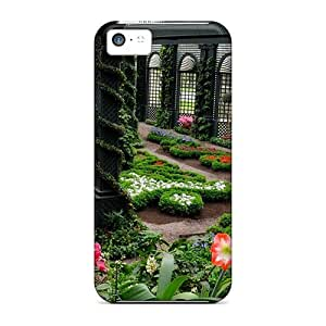 For Iphone 5c Tpu Phone Case Cover(private Garden)