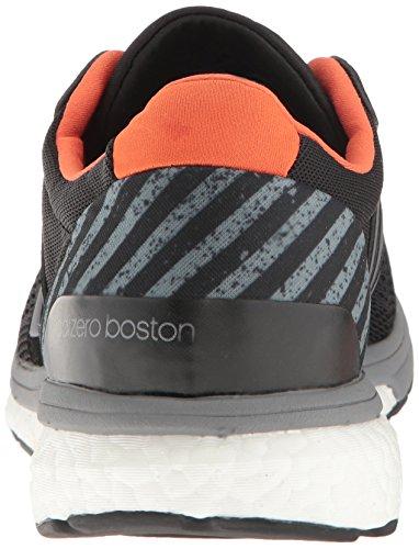 adidas Performance Herren Adizero Boston 6 M GFX Laufschuh Schwarz / Tech Grey / Energie Orange