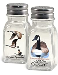 Want American Expedition Glass Salt and Pepper Shaker Sets (Canada Goose) lowestprice