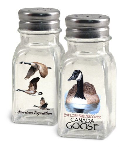 American Expedition Glass Salt and Pepper Shaker Sets (Canada Goose)