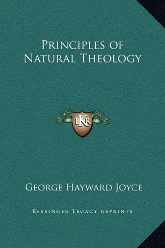 Principles of Natural Theology ebook