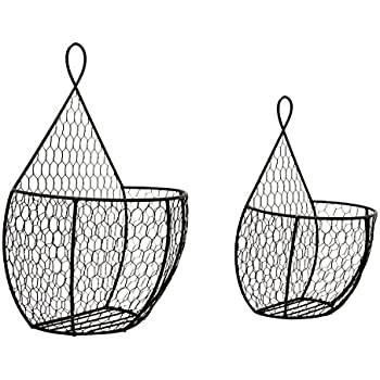 Wire  Tier Wall Mounted Kitchen Fruit Produce