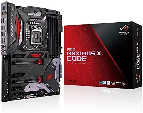 ASUS ROG Maximus X Code - Placa Base (6 x PCIe 3.0, 6 x SATA 6 Gbit/s, 6 x USB 3.1 Gen 1, USB 3.1 Gen 2, HDMI,Intel Z370 LGA1151, DDR4 4133 MHz)