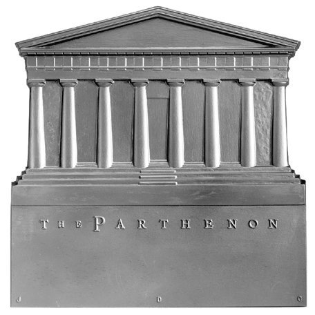 17'' x 18'' Parthenon Fireback by Pennsylvania Firebacks
