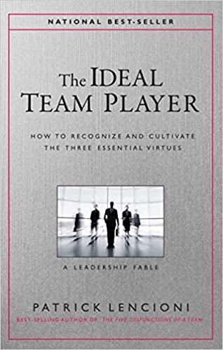 Book The Ideal Team Player: How to Recognize and Cultivate The Three Essential Virtues