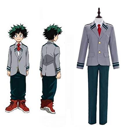 GGOODD Anime My Hero Academia Midoriya Izuku Cosplay Halloween ...