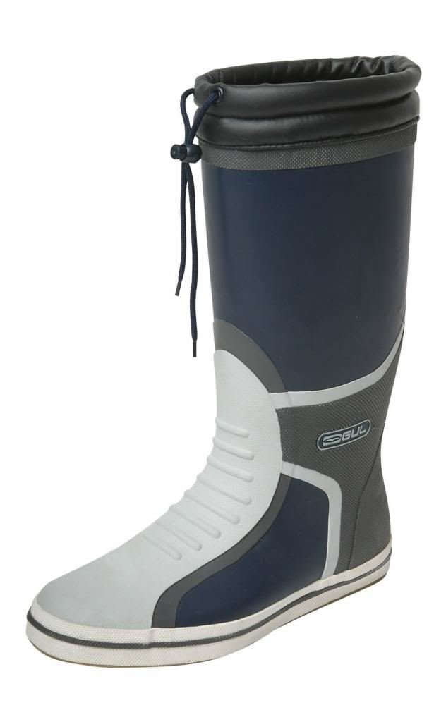 Gul Deck Full Length Sailing Boots - Navy/Charcoal 7UK/40.5EU