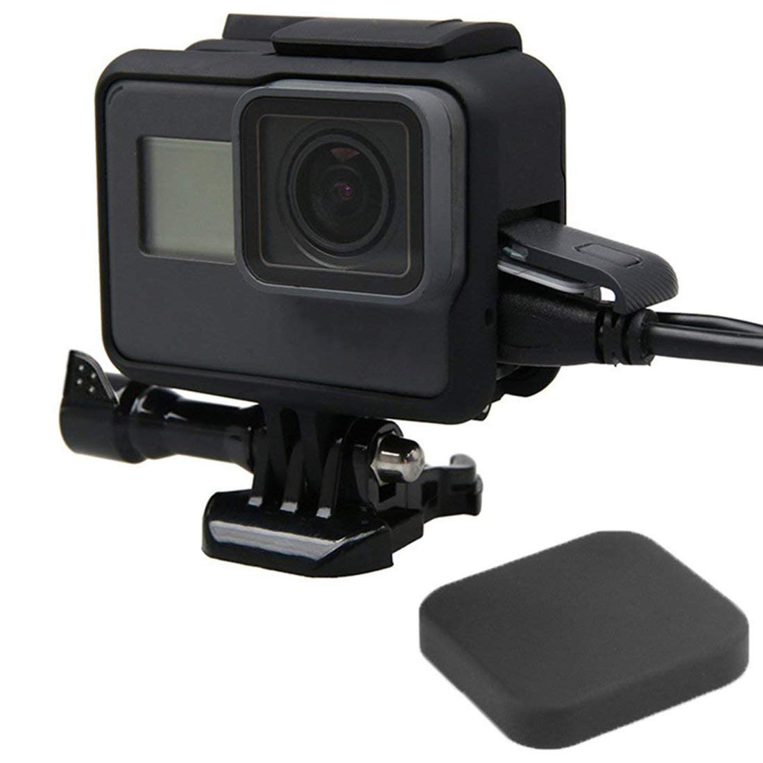 TOOGOO Frame Open Ca Lens Protective Cover Accessories Kit for Gopro Hero 5/6 by TOOGOO (Image #2)