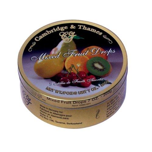 Cambridge & Thames Mixed Fruit Drops (7 Oz.) 54 Candies