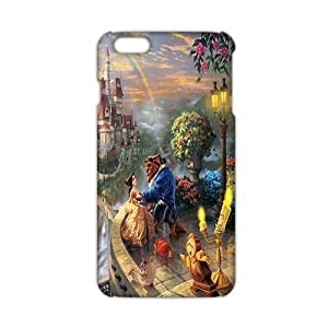 3D Case Cover cartoon Beauty And Beast Phone Case for iphone 5c