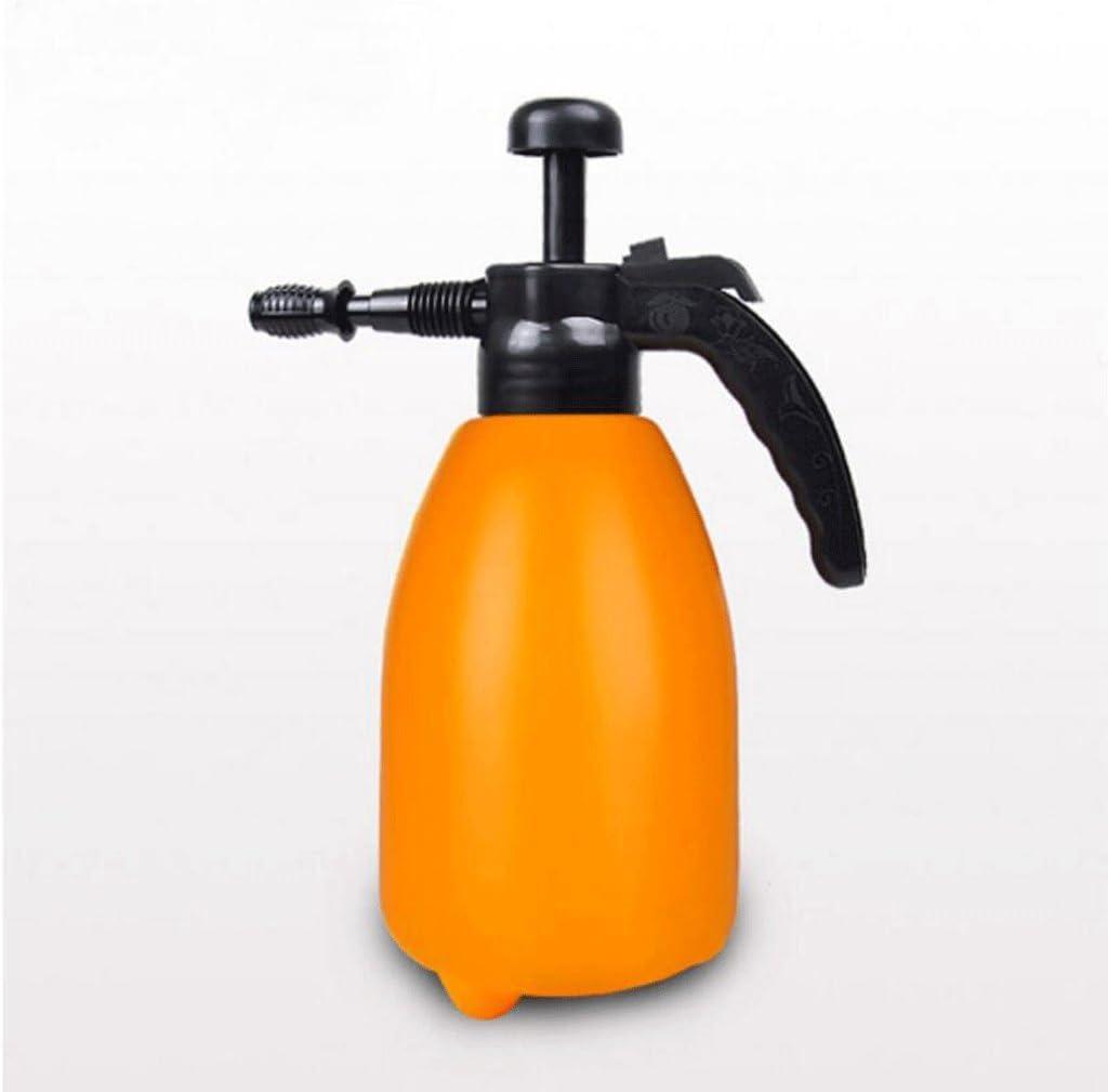 Wddwarmhome regadera naranja 2L de plástico pulverizador neumático rociador riego jardín jardín de flores