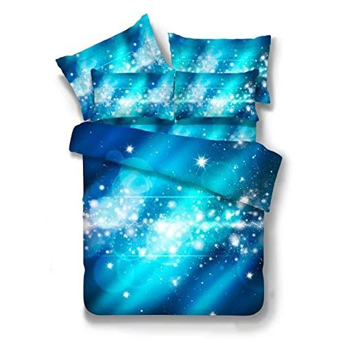 3d Mysterious Boundless Galaxy Colorful Outer Space Bedding Sets