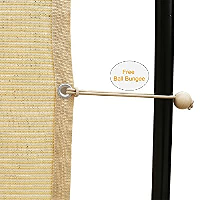 Shatex 90% Shade Fabric Sun Shade Cloth with Grommets for Pergola Cover Canopy 10' x 12', Wheat: Industrial & Scientific