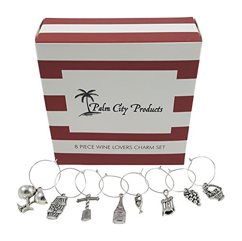 Piece Wine Lovers Themed Charms product image