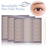 Breathable Fiber Single Side Eyelid Tape Stickers-Perfect for Hooded, Droopy, Uneven, or Mono-eyelids-Instant