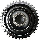 Diften 308-A3821-X01 - New Harmonic Balancer Crankshaft Damper w/Pulley Mazda 626 2002 2001 2000 99 98