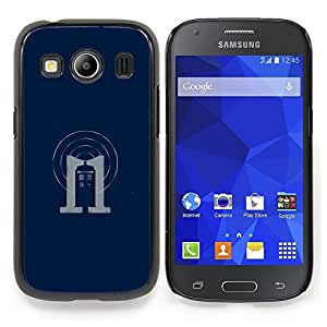 "Qstar Arte & diseño plástico duro Fundas Cover Cubre Hard Case Cover para Samsung Galaxy Ace Style LTE/ G357 (Dr 0MS stand"")"