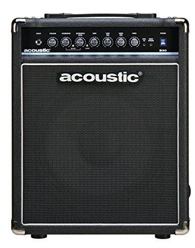 Custom Bass Amps - Acoustic B30 30W Bass Combo Amp Level 1 Black