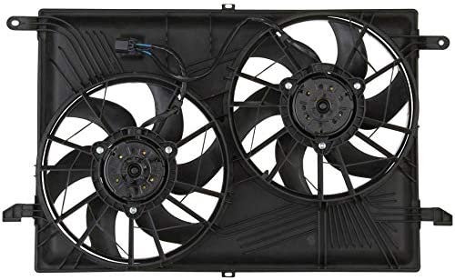 TYC 621930 Radiator /& Condenser Cooling Fan Assembly New with Lifetime Warranty