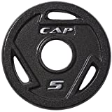 Cap Barbell Free Weights Cap Barbell 5-Pounds Olympic Grip Plate