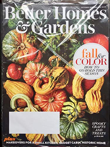 Better Homes & Gardens October 2018 Fall For