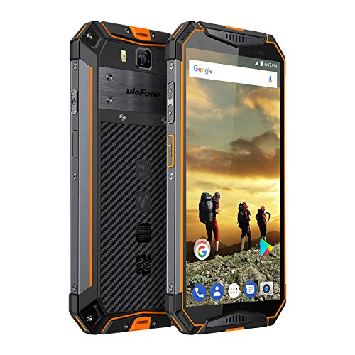 Ulefone Armor 3 Rugged Smartphone Unlocked, IP68 Waterproof Cell phone, Android 8.1 10300mAh Big Battery 4GB+64GB, Dual Sim 4G Global Version, 5.7