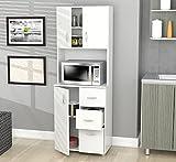 Cheap Inval America Larcinia-White Kitchen Cabinet