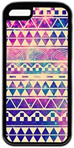 Galaxy Space Aztec Tribal Pattern Theme Iphone 5C Case