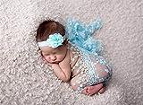 Sunmig Newborn Baby Photo Prop Blanket Rug