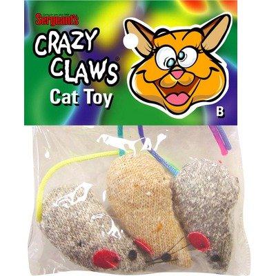 Crazy Claws Mice Catnip Toy, My Pet Supplies
