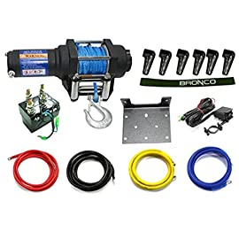 Nachman Bronco 3500 Lb Winch W/Synthetic Rope Ac-12020-3