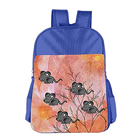 Oery Rats Design Kids Leisure Backpack Size Key RoyalBlue (Rat Bones Jacket)