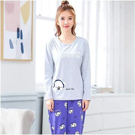 HAOLIEQUAN Pijamas Mujeres Kawaii Pijamas De Dibujos Animados ...