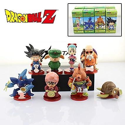 Amazon.com  Dragon Ball Z Anime Solid 8pcs Set Set WCF 1st Ver ... 58fae738d2e5