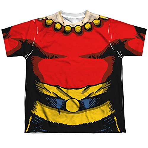 Children's Flash Gordon Costume (Flash Gordon Flash Costume Big Boys Sublimation Shirt XL White)