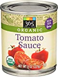 365 Everyday Value, Organic Tomato Sauce, 8 Ounce