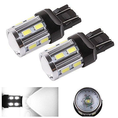 Radio Install Wires Cadillac Coupe (ToAUTO 2 X Cree LED Car Lights 7440 7443 12 SMD Cree XPE Lamp LED Auto Tail Turn Signal Brake Bulbs 12V -24V White )