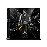Premium Skin Decals Stickers For PlayStation4 Game Console PS4 Skin Korea Made - POPSKIN Watch Dogs #02