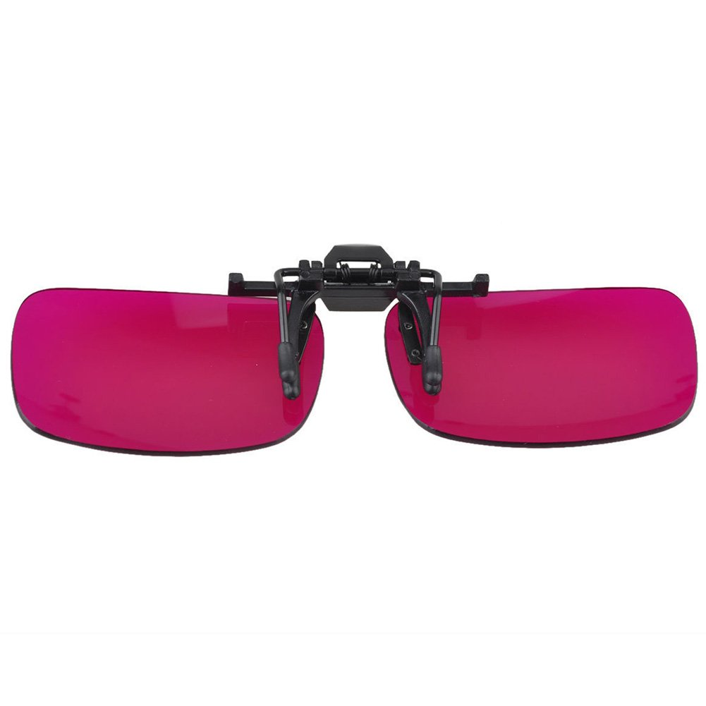 Outdoor Adjustable Clip Colorblindness Corrective Glasses Color Blind Red Green Color Blind Vision Care by ATINGSH (Image #5)