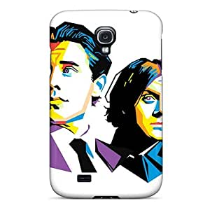 High Quality Phone Case For Samsung Galaxy S4 With Provide Private Custom Attractive Arctic Monkeys Band Pictures AlissaDubois