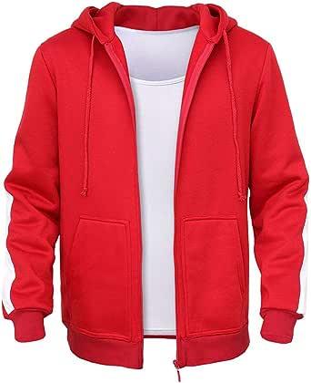 FACAI Disfraz de Sudadera con Capucha y Cremallera en suéter para niño - Rojo: Amazon.es: Ropa y accesorios